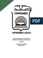 CIPROMEX 2015 UNAM