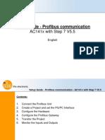 QSUG AC141x Communication Step7 V5.5 English