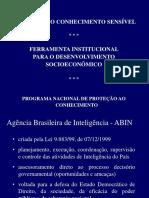 Programa de Proteção de Informações - GSI/ABIN