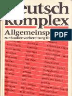Deutsch Komplex - Allgemeinsprache 1