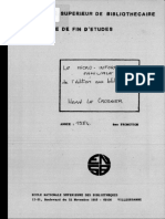 63402 La Micro Informatique Familiale de l Edition Aux Bibliotheques