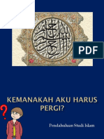 Pendahuluan Studi Islam