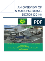 Overview of Ethiopian Manufacturing Sector
