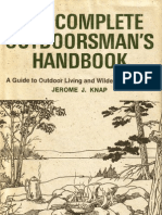 The Complete Outdoorsman's Handbook - A Guide to Outdoor Living and Wilderness Survival | JEROME J. KNAP