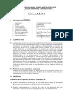 Syllabus Contb de Costos- 2015-II