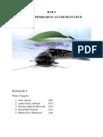 (4) Metode Pemijahan Alami Ikan Lele