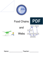 Checkpoint Food Chains & Webs RSD