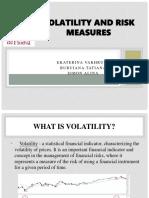 Volatility and Risks Mesures