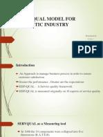 presentation on SERVQUAL MODEL for logistics.pptx