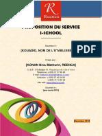Proposition de Services