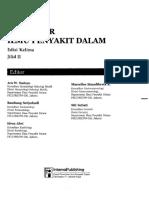 Buku Ajar Ilmu Penyakit Dalam PAPDI Edisi Kelima