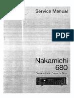 Nakamichi 680 Sm-OCR