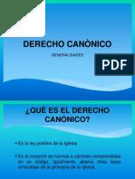 Derecho Canònico 2014