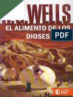 El Alimento de Los Dioses - H. G. Wells