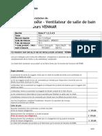 Hotte- Ventilateur  Desc. 1 2 3 4 5 (120503).doc