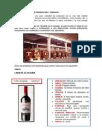 Descripcion de Los Productos - Tacama