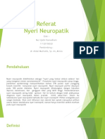 Referat Nyeri Neuropatik