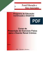 Prescrição de Exercícios Para Renais Crônicos 01-Alterado Em 30-12-2010