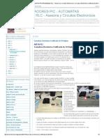 MICROCONTROLADORES PIC - AUTOMATAS PROGRAMABLES RLC - Asesoria y Circuitos Electronicos_ Cerradura Electrónica Codificada de 20 Dígitos