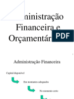 Administrao Financeira e Oramentaria