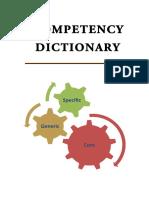 kamus operasional  Kompetensi