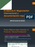 18 Evidencia 6 Negociación Internacional y Documentacion Requerida