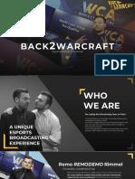 Back2Warcraft - Sponsorship Proposal