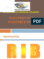 Taxation for Construction Industry