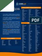 Bolivian Entry Requirements/ Requisitos de entrada para Bolivia