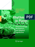 Preview of Rhythms in Plants Phenomenology Mechanisms and Adaptive Significance