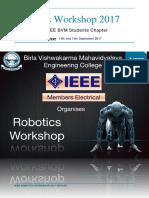 Technical Report Robotics Workshop 2017