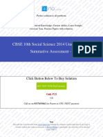CBSE 10th Social Science