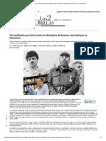 Un Sandinista Que Luchó Contra La Dictadura de Somoza, Laureado Por Su Literatura
