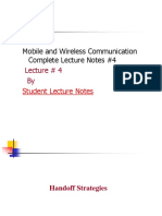 Mobile and Wireless Communication Complete Lecture Notes #4