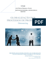 Globalização Dos Processos de Produção - Oursourcing