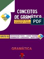Conceitos de Gramática