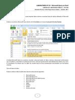 Laboratorio 15.- Microsoft Query en Excel - Cpa-506 - Ph.d. c Victor Hugo Chavez Salazar