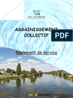 Reglement Service Assainissement Collectif