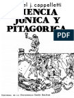 Ciencia Jónica y Pitagórica - Ángel Cappelletti.pdf
