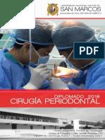 Convocactoria Diplomado Cirugía Periodontal 2018