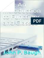 C++ An Introduction to Functions and Classes - John P. Baugh