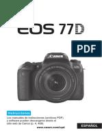 EOS 77D Instruction Manual ES