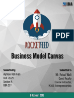 RocketFeed Business Model Canvas Analysis