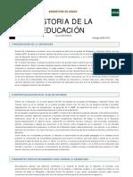 Historia Educacion Ed