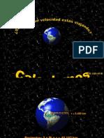Velocidad de La Tierra