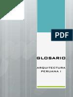 GLOSARIO PERUANA