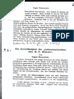 Die Zuverlässigkeit Der Lebensnachrichten Über B. G. Niebuhr