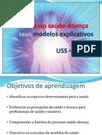 Modelos Xamanico, Cosmocentrico e Teocentrico 2016.2