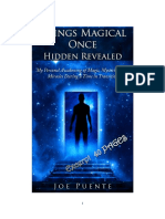 Exerptsfrom  ThingsMagical now Revealed--by Joe Fuente==awesome insights