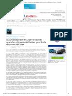 El Ayuntamiento de Lepe y Fomento Acuerdan El Trazado Definitivo Para La Vía de Acceso Al Chare — Huelva24